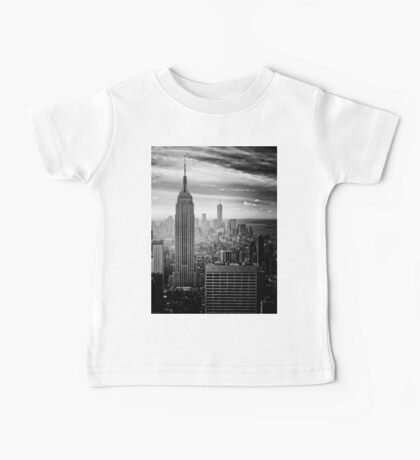 Manhattan Black & White Baby Tee