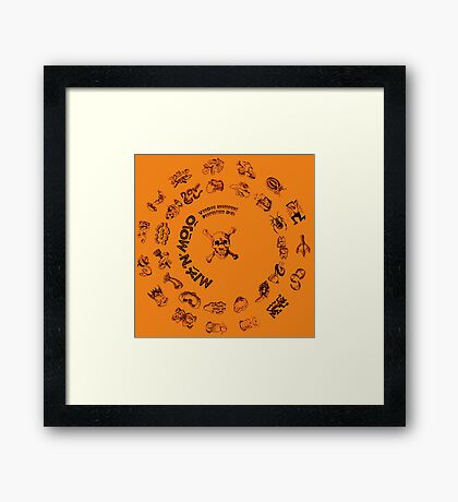 Monkey Island - Mix'n Mojo Framed Print