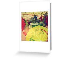 Prime's Umbrella Greeting Card