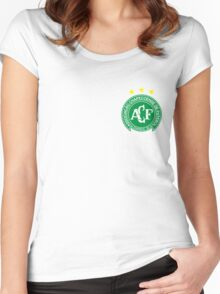 Forca Chapecoense Women's Fitted Scoop T-Shirt