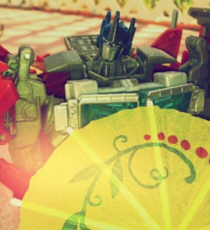 Prime's Umbrella Sticker