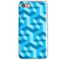Sea of blocks iPhone Case/Skin