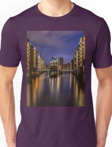 Hamburg By Night Unisex T-Shirt