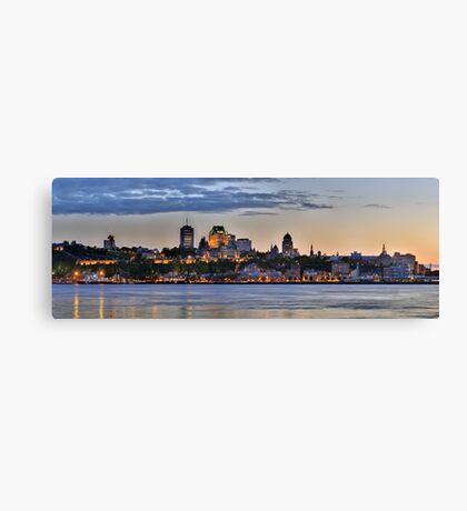 Quebec Skyline Canvas Print