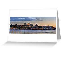 Quebec Skyline Greeting Card