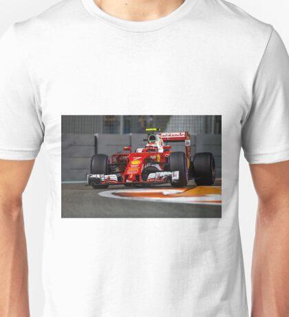 Kimi Raikkonen Ferrari Formula 1 2016 Unisex T-Shirt