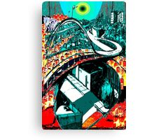 RUSH HOUR - Commuters - Modern Times series Canvas Print