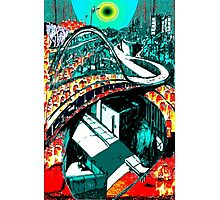 RUSH HOUR - Commuters - Modern Times series Photographic Print
