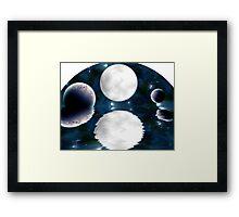 Moonlight Reflections Framed Print
