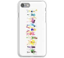 Watercolor Senshi Vertical iPhone Case/Skin