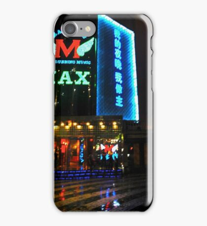 CHINA OF THE LIGHT : Max Club iPhone Case/Skin
