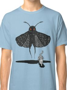 Mothman and a Cat Classic T-Shirt
