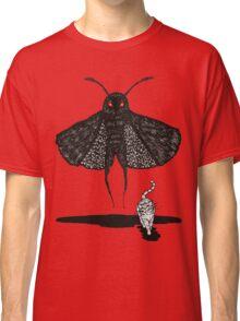 Mothman and a Cat Classic T-Shirt