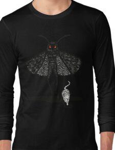 Mothman and a Cat Long Sleeve T-Shirt