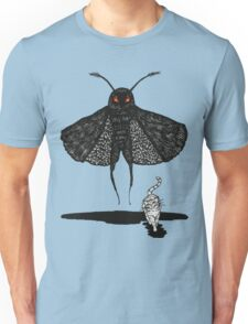 Mothman and a Cat Unisex T-Shirt