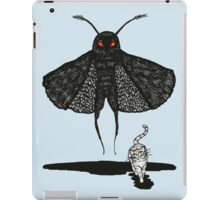 Mothman and a Cat iPad Case/Skin
