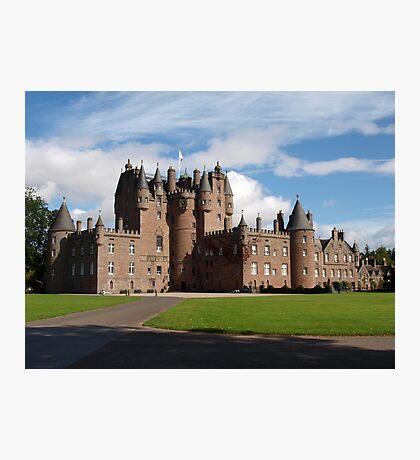 Glamis castle Photographic Print