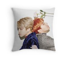 jimin j-hope Throw Pillow