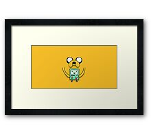 Jake from Adventure Time Framed Print