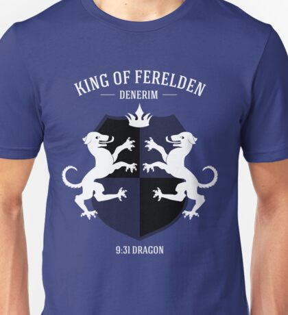 Dragon Age - King of Ferelden Unisex T-Shirt