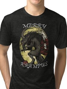 Merry Krampus  Tri-blend T-Shirt