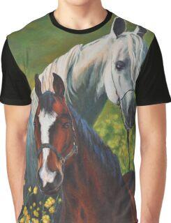 Horses Graphic T-Shirt