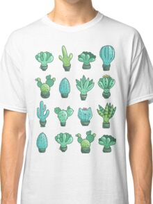 Cute cactus and succulents Classic T-Shirt