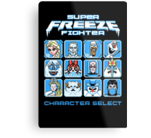 Super Freeze Fighter Metal Print