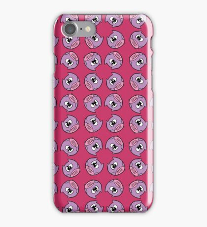 A little Pink and purple hooin iPhone Case/Skin