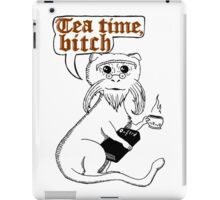 Tea Time Bitch iPad Case/Skin