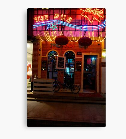 CHINA OF THE LIGHT : The Pub Canvas Print