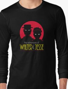 Walt and Jesse: The Animated Series Long Sleeve T-Shirt