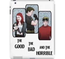 The Good, the Bad, and the Horrible iPad Case/Skin