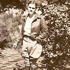 A Tribute To Mom ~ Gladys At Lumina, Lake of Bays, Ontario: 1936 by artwhiz47