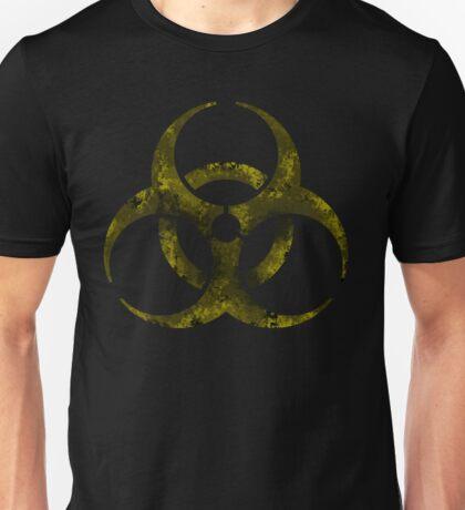 Biohazard symbol 5 yellow  Unisex T-Shirt