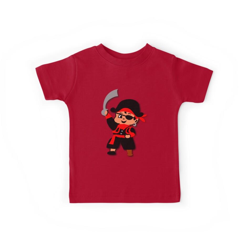 Pirate Kid Billy Tee by patjila