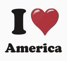 I Love America Kids Clothes