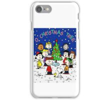 CHARLIE BROWN CHRISTMAS 1 iPhone Case/Skin