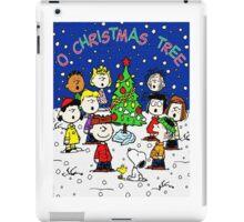CHARLIE BROWN CHRISTMAS 1 iPad Case/Skin