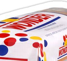 Whiter than Wonderbread Sticker