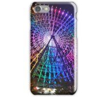 Rainbow Ferris Wheel Osaka iPhone Case/Skin
