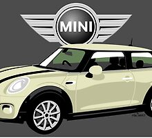 2014 Mini Cooper white by car2oonz