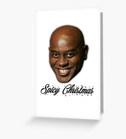 Spicy Christmas Greeting Card