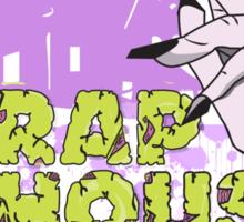 Trap House Zombie Sticker