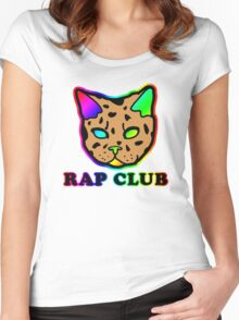 Rap Club Women's Fitted Scoop T-Shirt