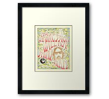 This Aggression Will Not Stand, Man  Framed Print