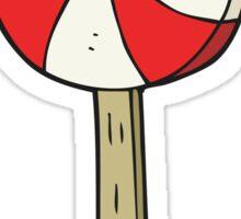 cartoon lollipop Sticker