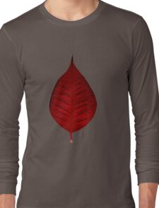 Red leave Long Sleeve T-Shirt