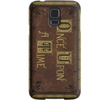 Henry's Book Phone Case- Once Upon a Time Samsung Galaxy Case/Skin