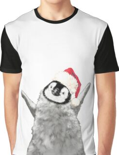 Christmas Baby Penguin Graphic T-Shirt